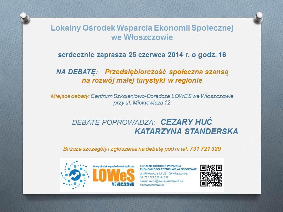 debata 25 czerwca 2014