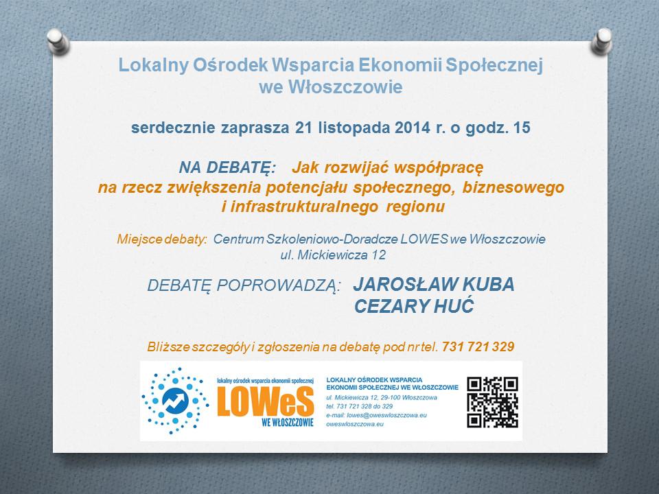 debata 21 listopada 2014 W-2