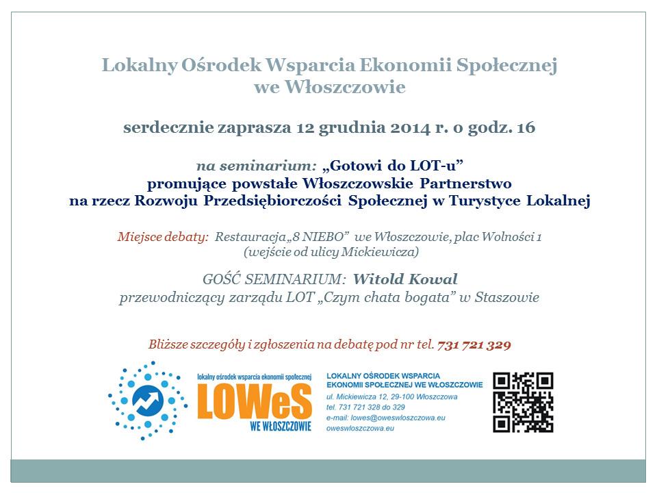 seminarium promujące PPLOT 2