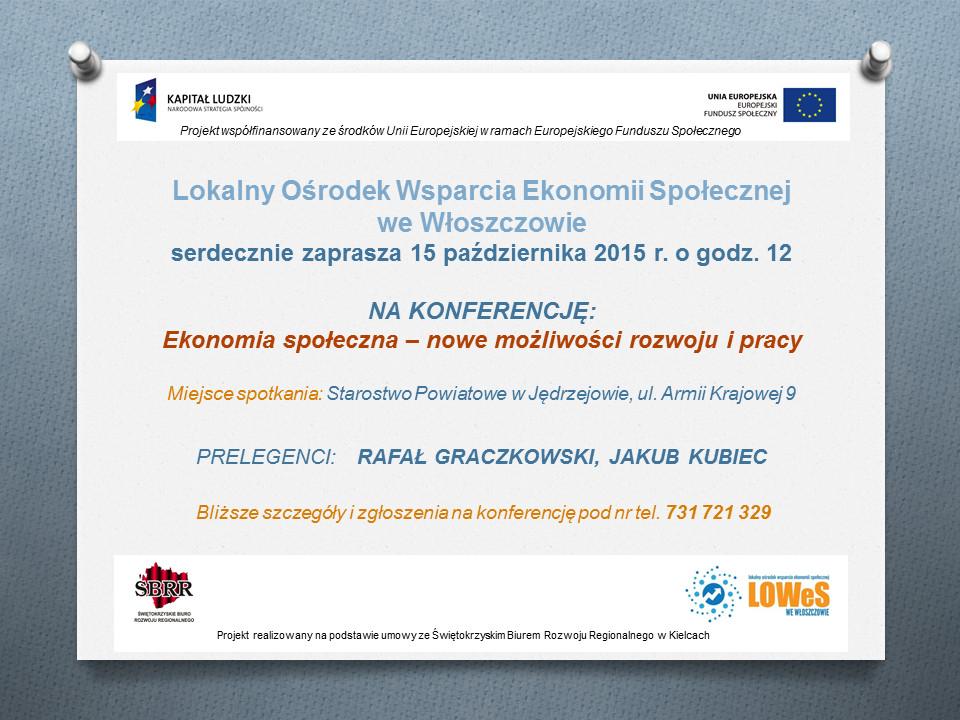 konferencja Jędrzejów 15 X 2015